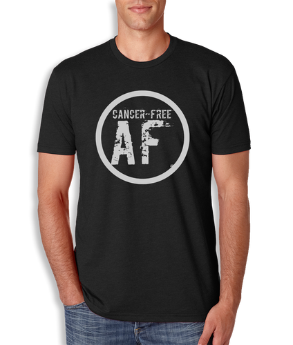 Cancer Free AF T-Shirt - Men's