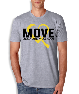 Move Because You Can Logo T-Shirt - Mens