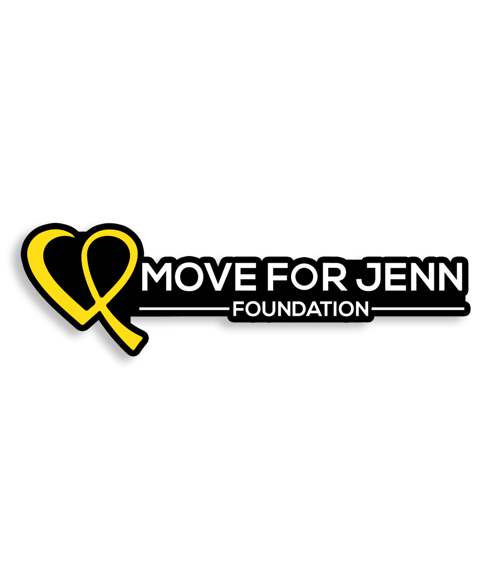Move For Jenn Foundation Sticker