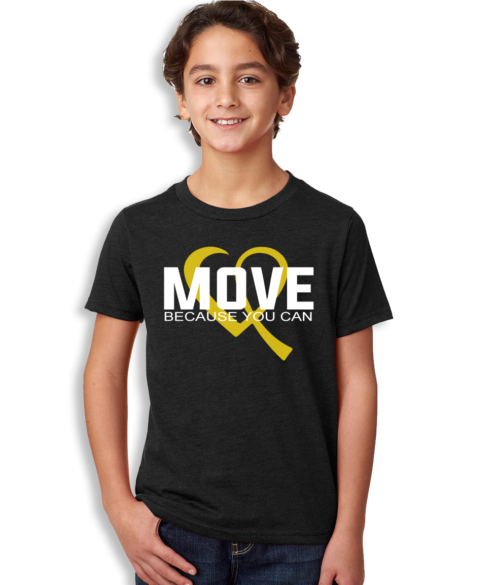 Move Because You Can Logo T-Shirt - Youth Unisex