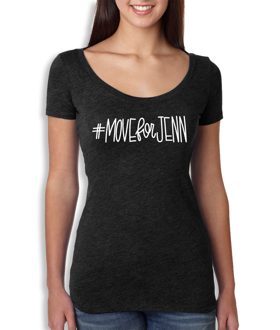 #MOVEforJENN Scoop Neck - Women's