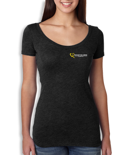 Small Logo Scoop Neck - Women's