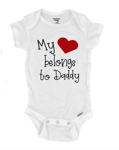 My Heart Belongs to Daddy - Michelle's Gift Studio