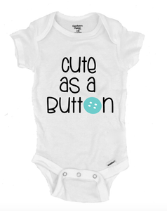 Cute as a Button - Michelle's Gift Studio