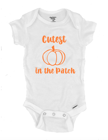 Cutest Pumpkin in the Patch - Michelle's Gift Studio