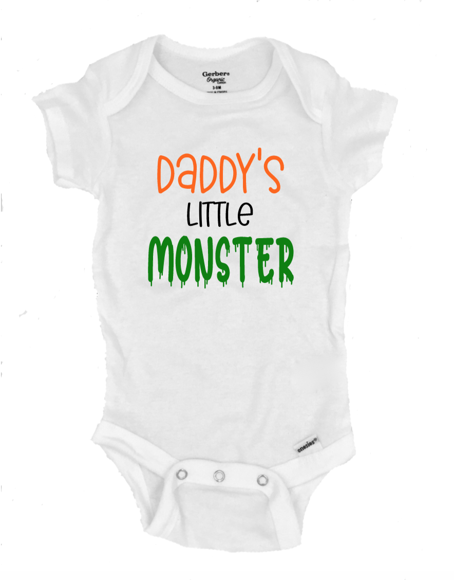 Daddy's Little Monster - Michelle's Gift Studio