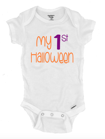 My First Halloween - Michelle's Gift Studio