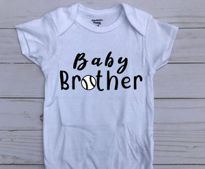 Brother Shirts w/Baseball Clothing- Michelle's Gift Studio