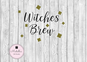 Witches Brew SVG SVG File- Michelle's Gift Studio