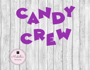 Candy Crew SVG SVG File- Michelle's Gift Studio