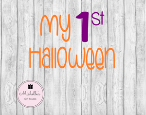 My 1st Halloween SVG SVG File- Michelle's Gift Studio