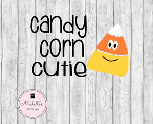 Candy Corn Cutie SVG SVG File- Michelle's Gift Studio