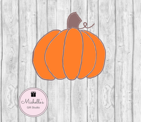 Pumpkin SVG SVG File- Michelle's Gift Studio