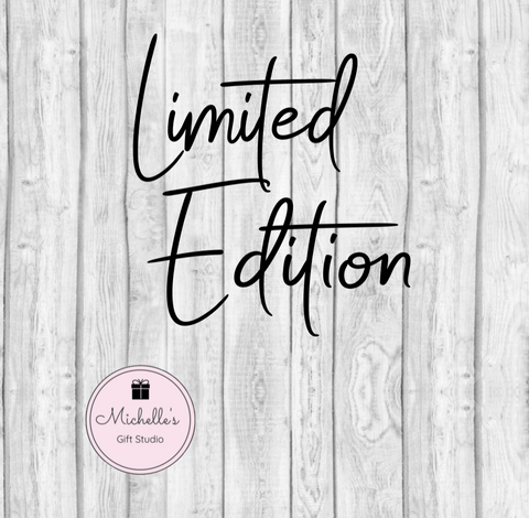 Limited Edition SVG - Michelle's Gift Studio