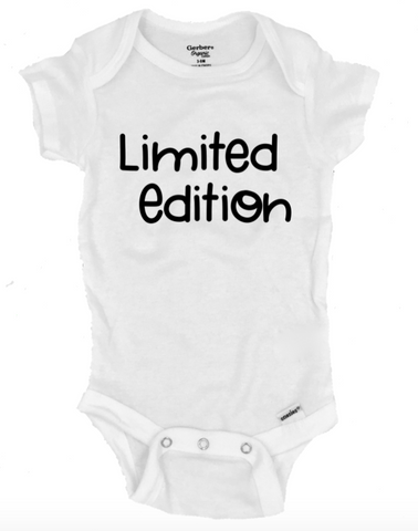 Limited Edition Infant Onesie®- Michelle's Gift Studio