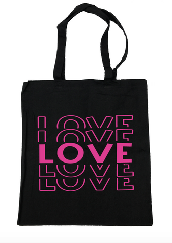 Love Tote Bag- Michelle's Gift Studio