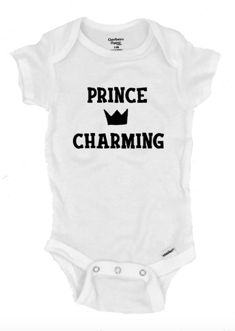 Prince Charming Infant Onesie®- Michelle's Gift Studio