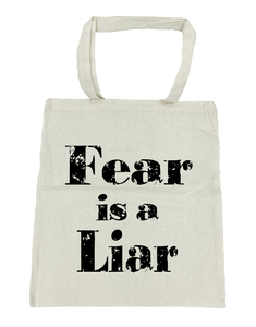 Fear Is a Liar - Michelle's Gift Studio