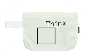 Think Outside the Box Cosmetic Bag- Michelle's Gift Studio