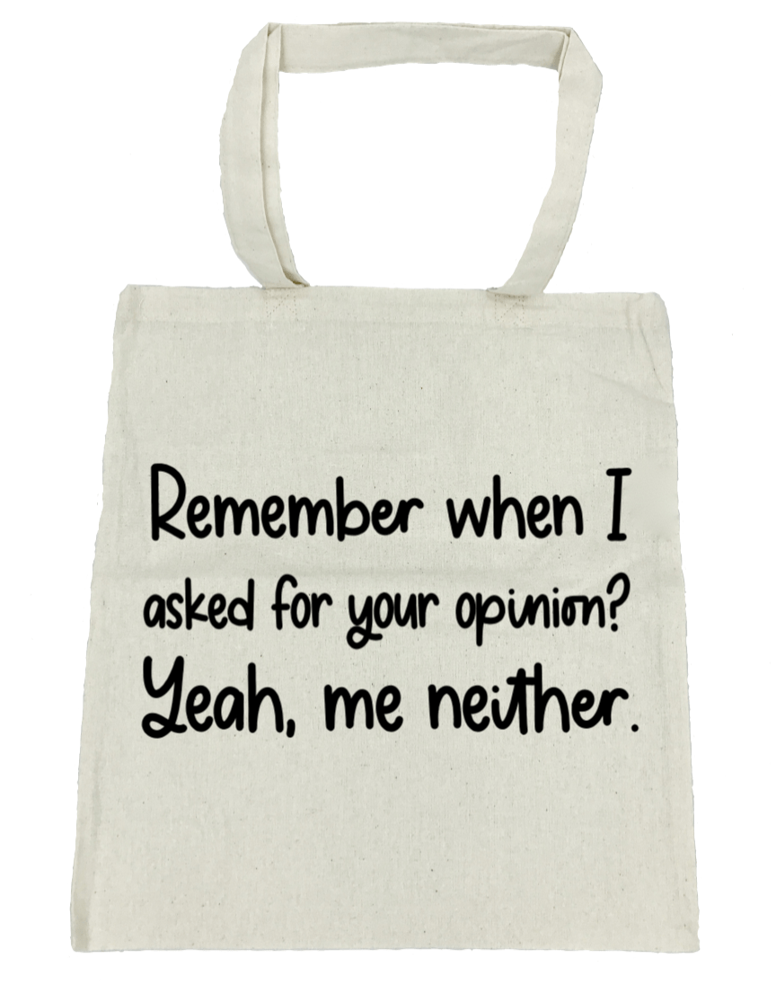 Remember When I Asked for Your Opinion? - Michelle's Gift Studio