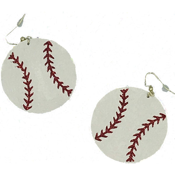 Baseball Earrings - Michelle's Gift Studio