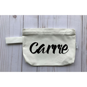 Cosmetic Travel Bag Personalized - Michelle's Gift Studio