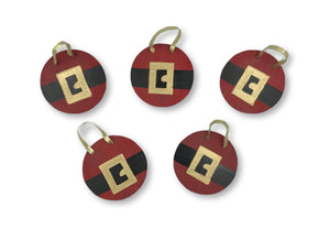 Santa Gift Tags/Ornaments Ornament- Michelle's Gift Studio