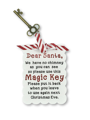 Santa's Magic Key Key- Michelle's Gift Studio