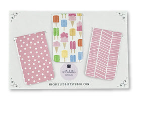 Ice Cream Magnetic Bookmarks Bookmark- Michelle's Gift Studio