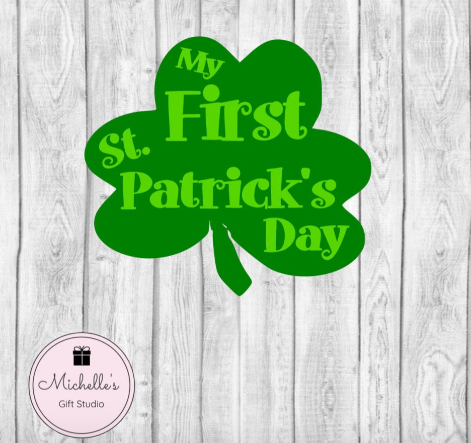 My First St. Patrick's Day - Michelle's Gift Studio
