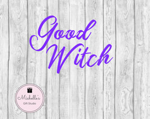 Good Witch SVG - Michelle's Gift Studio