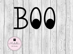 Boo svg | Halloween svg | Boo Eyes svg | Trick or Treat svg | Trick or Treat bag | Halloween svg | Halloween Shirt | Kids svg | Kids Shirt - Michelle's Gift Studio