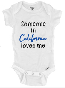 Someone in California Loves Me - Michelle's Gift Studio