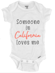 Someone in California Loves Me Clothing- Michelle's Gift Studio