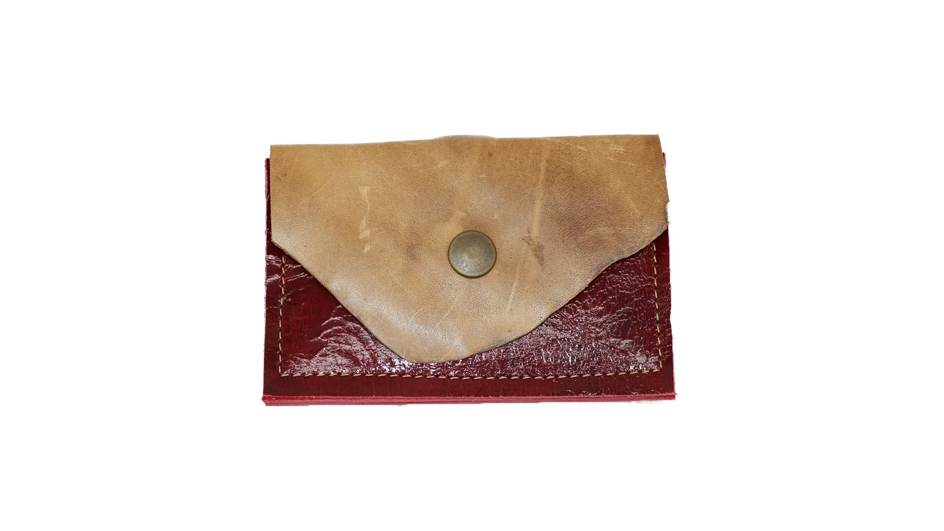Leather clutch wallet Noveled Leather keep all your card and business cards in one place. Carries up to 7 cards.