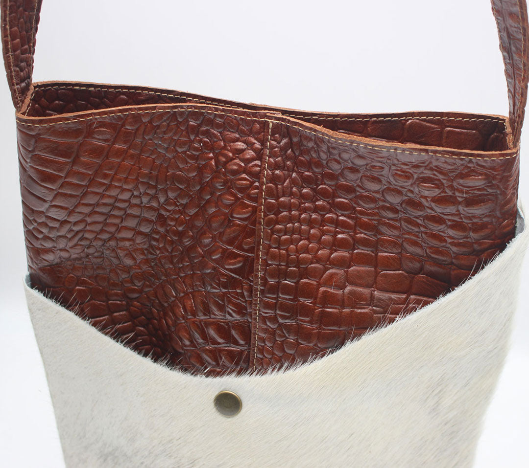 Crossbody Leather Purses | Coco Reptile