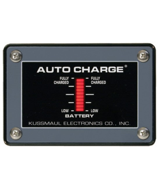 Kussmaul Pump Plus 1200 Charger w/ Bar Graph Display