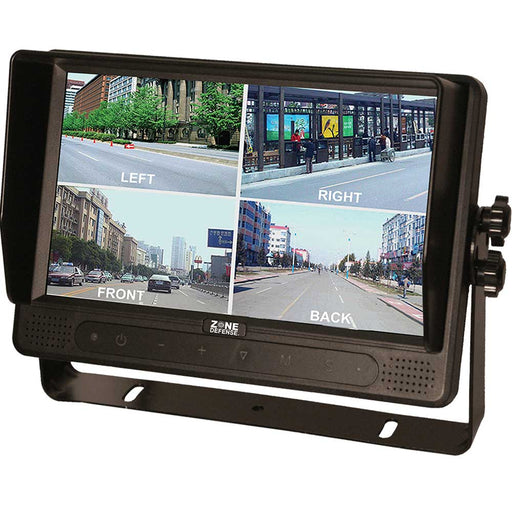 "Zone Defense 9"" Touch Screen Quad Monitor"