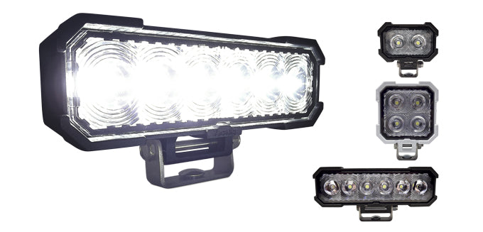 Tecniq P02/P04/P06 SteelHead Heavy Duty Work Lighting