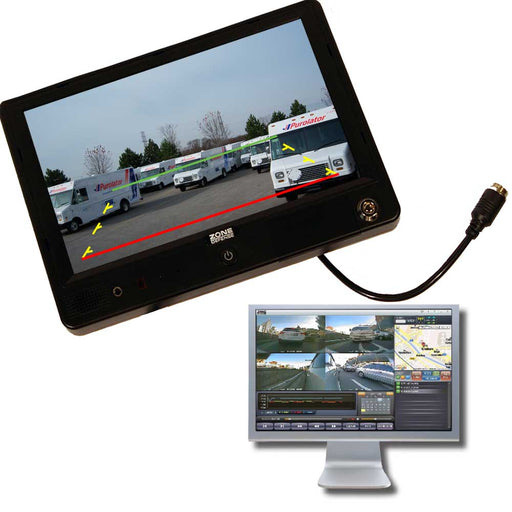 Zone Defense All In One DVR Monitor
