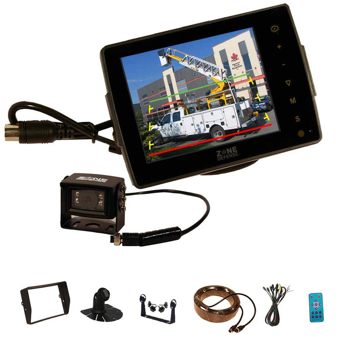 "Zone Defense 5"" System (Backup Camera)"