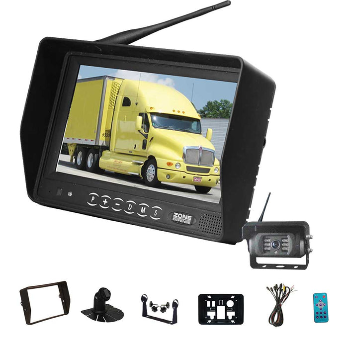 Zone Defense Wireless Single Camera System (Backup Camera)