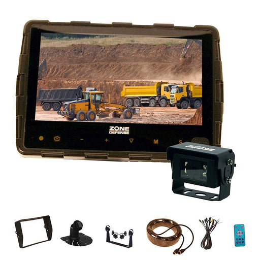 Zone Defense Rugged 7' System (Backup Camera)