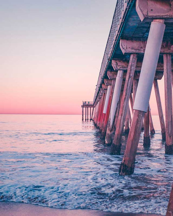 Summer's Pier Sunset