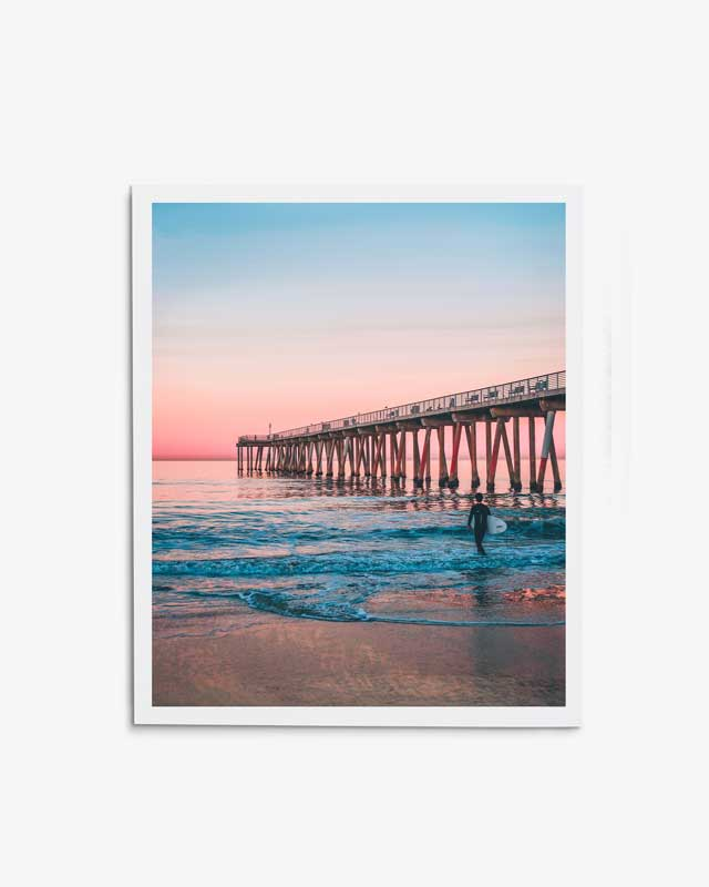 Sunset Pier Surf