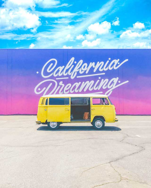 California Dreaming Classic Art Print