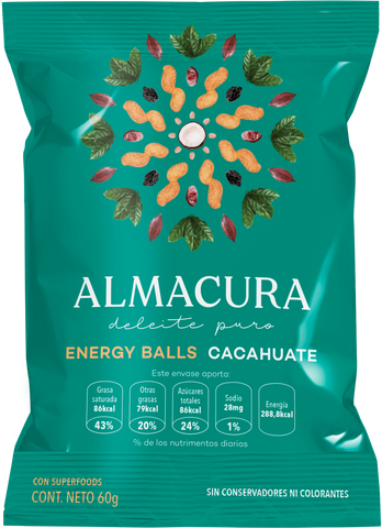 Enery Balls Cacahuate