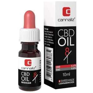 CBD Oil 8/1 CBD/THC Ratio mit 6.4% CBD - CBD Discounter