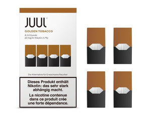 JUULpods Golden Tobacco - CBD Discounter