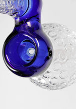 Laden Sie das Bild in den Galerie-Viewer, Blue Crystal Bubbler 19cm - CBD Discounter